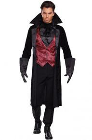 Mens Bloody Handsome Vampire Costume
