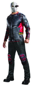 Deadshot Shirt, Pants, Mask Mens Licensed Suicide Squad