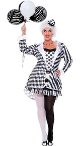 Women's Plus Size Circus Damned Costume (70639Q)