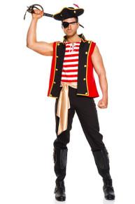 Plunderous Pirate Mens Costume