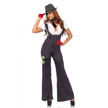 Brass Knuckle Babe Includes Cat Suit and Tie (85560)
