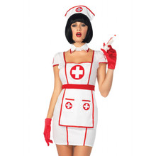Hospital Heartbreaker Sexy Women's Nurse Costume (85539LEG)