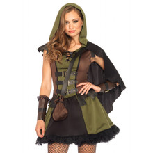 Darling Robin Hood Women's Hooded Dress
