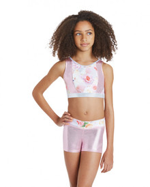 Tempo Toss Girls Gymnastic Shorts
