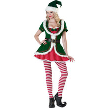 Rent: Holiday Honey Women's Elf Costume Set