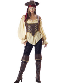Rent: Rustric Pirate Lady Complete Costume