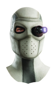 Deadshot Light Up Overhead Latex Mask Licensed Suicide Squad
