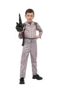 Ghostbusters Economy Kids Printed Jumpsuit w/ Inflatable Proton Wand