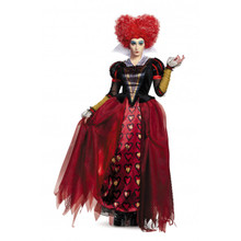 Alice in Wonderland Red Queen Deluxe Ladies Costume