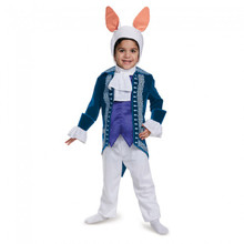Alice Through The Looking Glass White Rabbit Toddler Deluxe Costume