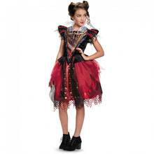 Alice Through The Looking Glass Red Queen Tween Costume