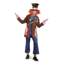 Alice in Wonderland Mad Hatter Prestige Edition Men's Costume