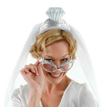 """Wedding Ring Silver Glasses """"Forever Yours"""""""