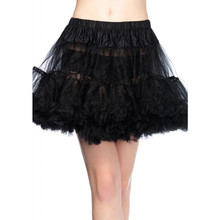 Layered Tulle Petticoat Adult Plus Size 1x/2x