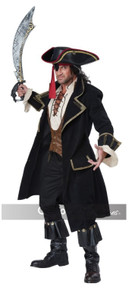 Pirate Captain Deluxe Adult Costume