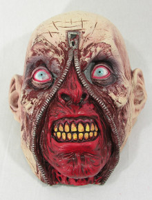 Zipper Zombie Mask