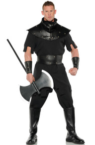 Executioner Black Renaissance Punisher Mens Plus Size Costume