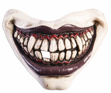 Evil Clown Mouthpiece with Elastic Strap
