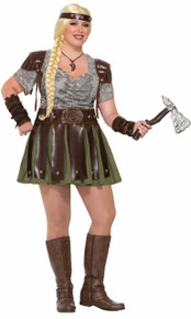 Viking Woman Full Figured Costume Size 18/22