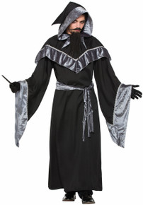 Mystic Sorcerer Black & Grey Witches & Wizards Series