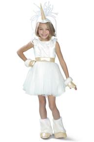 Unicorn Girl's Deluxe Costume Tutu Dress Complete Set
