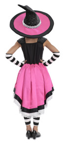 Luna the Witch Girl's Dress w/ Hat, Leg, & Arm Warmers