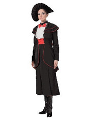 Rent: Spoon Full of Sugar Womens Black Victorian Costume