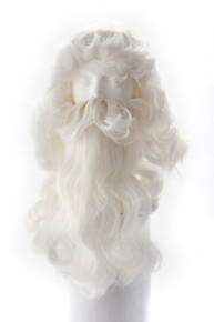 Santa Washable Wig and Beard Set