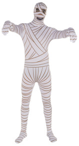 2nd Skin Mummy Adult Costume Suit