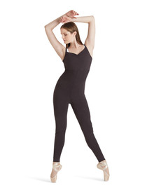 Ladies SweetHeart Hungry Eyes Ribbed Waist Jumpsuit