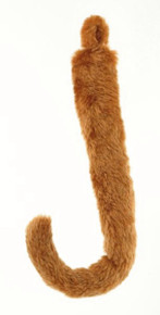 """Animal Tail 18"""" Golden Brown Cat Mouse Lion"""