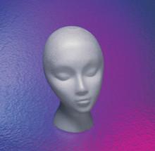 Wig Head Styrofoam - Short