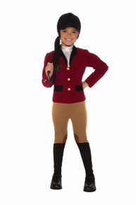 Equestrian  Horse Jockey Rider Girl's Costume