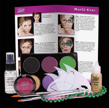Mardi Gras Premium Makeup Kit