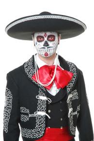 Black & Silver Mariachi Sombrero