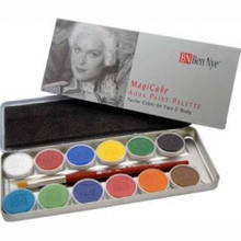 MagiCake Aqua Paint Palette 12 Colors