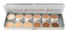 Essential Matte HD Foundations Palette 12 Colors
