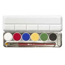 MagiCake Aqua Paint Palette 6 Colors .84oz / 24gm
