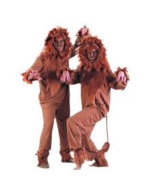 Lion Jumpsuit Adult Costume