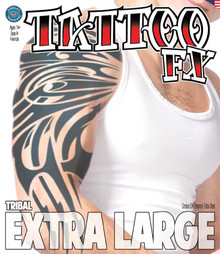 Tribal - Extra Large Arm Temporary Tattoo