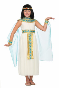 Queen Cleopatra Egyptian Goddess Kids Costume
