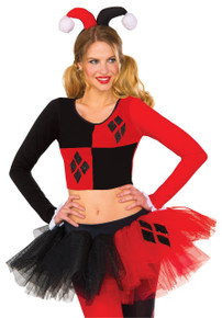 Harley Quinn Tutu Adult Skirt Licensed DC Comics