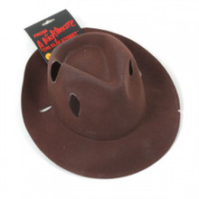 Freddy Krueger Fedora Hat authentic looking with Burn Holes