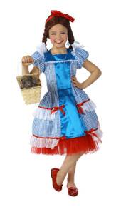 Wizard of Oz Dorothy Teen Sassy Dress Deluxe Costume