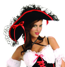 Queen of the Sea Hat Ladies Pirate Hat