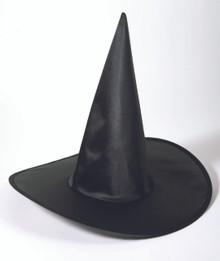Black Satin Witch Hat