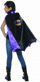 Batgirl Kid's Deluxe Black Cape