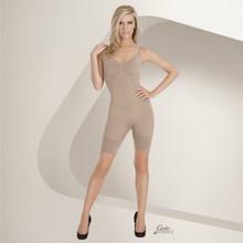 Eurotard Julie France Full Body Boxer Body Shaper - Nude