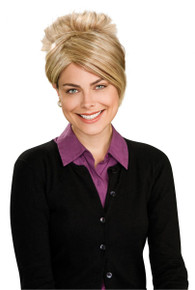 """Ladies Blonde """"Eight is too much"""" TV Style Wig"""