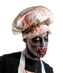 Zombie Butcher Bloody Chef Hat